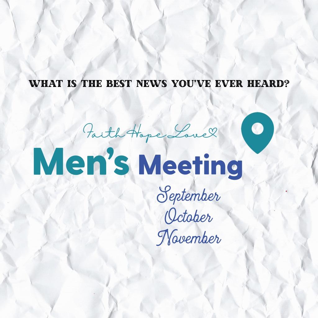 Explorer Mens Meeting